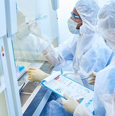 Accompagnement à la rédaction du dossier règlementaire associé à l'utilisation confinée d'OGM
