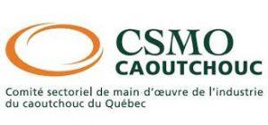 Logo CSMO caoutchouc